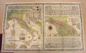 Dante - map from the Atlases collection